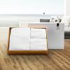 [Супермаркет] Джингдонг Канг Xin (canasin) толстый полотенце абсорбент хлопчатобумажный InterContinental Hotels практичный костюм квадратных полотенца, банные полотенца три белых подарочные коробки