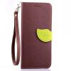 Коричневый Дизайн Кожа PU откидная крышка бумажника карты держатель чехол для HTC Desire 820 htc desire 650