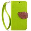 Зеленый дизайн Кожа PU откидная крышка бумажника карты держатель чехол для Nokia Lumia 630