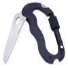 MyMei Multi-function 5 in 1 Outdoor Knife Carabiner Opener Screwdriver Tool Camping Climbing Equipment Survival Tactical Gear сувенир мкт оберег для кошелька ложка загребушка классическая
