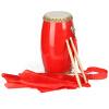 Акация птицы (LOVEBIRD) талии барабаны взрослый воловьей талии барабан цельный древесины двойной ряд гвоздь барабан барабан танцы производительности группа барабаны красный шелковый шарф перкуссия инструмент 14см XS9001 перкуссия и пэд alesis percpad