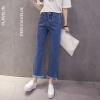 Лонгвью женские джинсы свободные брюки микро динамик прямые колготки LWKN173310 раскол заусенцев темно-синий L комплект постельного белья primavelle овьедо