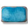 купить Di гордиться Division (DesignGo) портативный надувные подушки путешествия поясничной подушки спальные комфорт подушка сиденья офис талии подушка 81471 синий недорого