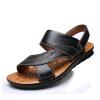Чи EGCHI должны мужчины сандалии на открытом воздухе сандалии дышащие первый слой кожаные сандалии Brown 41 12129 сандалии alba сандалии