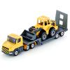 [Супермаркет] Jingdong Siku автомобиля имитационная модель сплава игрушка автомобиль модели автомобиля детские игрушки, игрушка строительный грузовик бортовой прицеп с бульдозером SKUC1616