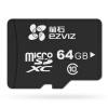 Флюорит (EZVIZ) камера видеонаблюдения выделенная карта памяти Micro SD карта TF 64GB Class10 Hai Kangwei как бренд флюорит ezviz камера видеонаблюдения выделенная карта памяти micro sd карта tf 64gb class10 hai kangwei как бренд