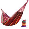 Красный лагерь на открытом воздухе отдыха гамак качели одной красной полосой холст гамак помещении детей 80см