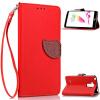 Красный Дизайн Кожа PU откидная крышка бумажника карты держатель чехол для LG G4 Stylus fashionable protective aluminum alloy back case for samsung galaxy note 3 champagne