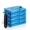 мешка перемещения слишком много вакуумный мешок 5, вмещающий наборы сжатия (2, 2 1 боковой тянуть ручной насос) 6 Laid тонкого провода Сейко