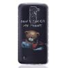 Медведь Pattern Мягкий тонкий ТПУ Резиновая крышка силиконовый гель чехол для LG K7/K8