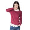 Инь Люди (ИНМАН) с длинными рукавами пуловер свитер розовых красный M 1863302258