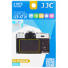 JJC LCP-XT10 XT10 XT10 посвященных камеры Fuji пленки экрана защитной пленка с высокой проницаемостью защитной пленкой экрана царапины рукав 2