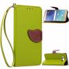 Зеленый дизайн Кожа PU откидная крышка бумажника карты держатель чехол для Samsung Galaxy J3 зеленый одуванчик дизайн кожа pu откидная крышка бумажника карты держатель чехол для samsung galaxy core prime g360