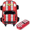 Мобильный ребенок (AUTOKIDS) студент начальной школы drawbars сумка 3D моделирование автомобиля отделимые школьные школьники с перетаскиванием 1 - 4-летняя скидка для мальчика рюкзак сумка-карандаш для мешка ak1152 скидка