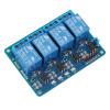 Модуль 5V 4-релейная плата для Arduino для Raspberry Pi ARM AVR DSP PIC adeept new 10mm rgb led module light emitting diode for arduino raspberry pi arm avr dsp pic freeshipping headphones diy diykit