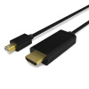 Руи Мин RA272BK-0200 мини дп переключатель HDMI аудио высокой четкости и видео кабель адаптер Apple TV 4K ая мини дп переключатель HDMI Черная молния медиаплеер apple tv 4k 64gb mp7p2rs a