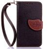 Черный Дизайн Кожа PU откидная крышка бумажника карты держатель чехол для Nokia Lumia 630 кожаная накладка pu для nokia lumia 510 черный