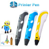 New Design Wercan High Quality 3D Printing Pen With Free Filament 3D Pen Best Gift For Kids Printer Pens myriwell 3d pen 2nd rp 100b led display diy 3d printer pen with pla filament for christmas gift 3d pens for kids drawing tools