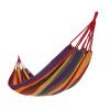骆驼(CAMEL) 户外吊床 户外野营宿舍秋千吊床 A6S3K5103 红色彩条