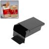 Распахнув алюминиевый сигареты сигары Табак держатель Карманный хранения Box Case
