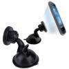 Универсальный 360 ° Поворот автомобиля присоске Магнитный держатель для телефона GPS универсальный магнитный держатель trendvision vent mh1