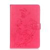 Цветок розы Дизайн PU кожа флип кошелек карты держатель чехол для IPAD PRO 9.7