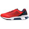 Anta (ANTA) мужская обувь 11638806-3 износостойкая ретро-досуг мода одежда обувь флуоресцентный лазер красный / Anta белый / черный 40