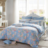 Doraemon (Dohia) Комплект постельных принадлежностей Хлопок Twill Fresh Fancy Double Bed Set 1.5m Bed Cycling Garden 200x230cm home living room furniture new china classic carved rosewood arhat bed solid wood long chair beauty couch double sofa single bed