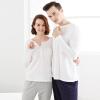 Медсестра пижамы обслуживание на дому мужчин и женщин пара моделей Симо Lauderdale пакет хлопка пижамы обслуживание на дому XAT028 дышащие комфорт женщины - Белый / Синий L (170/100) босоножки lauderdale 801 2015
