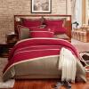 LOVO Lacey Living Четыре части хлопка американского стиля Постельные принадлежности из 4-х частей постельного белья Чехол для кроватки Gino 200 * 230 см