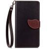 Черный Дизайн Кожа PU откидная крышка бумажника карты держатель чехол для Nokia Lumia 730 защитная пленка для мобильных телефонов 3pcs nokia lumia 730 735