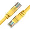 цена на И макросы (D & S) DNS4201 кристалл головка с шестью перемычками компьютерной сетевой кабель закончил кабель 1 метр желтый