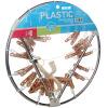 Вешалка для одежды капюшона металлическая круглое ветровое стекло 24 вешалка для одежды для одежды HD-0739