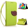 Розовый Дизайн Кожа PU откидная крышка бумажника карты держатель чехол для Samsung Galaxy Alpha/G850