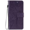 Purple Tree Design PU кожа флип крышку кошелек карты держатель чехол для WIKO LENNY 3
