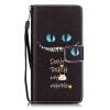 Голубые глаза Дизайн Кожа PU откидная крышка карточки бумажника держатель случая для HUAWEI P9LITE голубые глаза дизайн кожа pu откидная крышка карточки бумажника держатель случая для lg k8