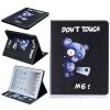 Синий медведь Стиль тиснение Классический откидная крышка с функцией подставки и слот для кредитных карт для iPad 4 воротнички и эротичные манжеты цвет белый