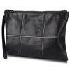 Отправить Paul MG pabojoe мужские сумки мужские растительного дубления коровьей сцепления мешок конверт мешок моды случайные мужская рука черный мешок PBJ1616A мужские сумки