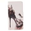 Высокие каблуки Дизайн Кожа PU откидная крышка бумажника карты держатель чехол для SAMSUNG GALAXY J1 2016/J120F baile pretty love trap черное эрекционное кольцо с вибрацией