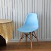 Таймс-сквер отдыха пластиковый стул эргономичный компьютерный стул простой стул, чтобы обсудить Эймс офисный стул деревянный стул отдыха синий совещание компьютерный стул
