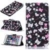Черная кошка Дизайн Кожа PU откидная крышка бумажника карты держатель чехол для IPHONE 6 PLUS/6S PLUS цветочный дизайн кожа pu откидная крышка бумажника карты держатель чехол для iphone 6s