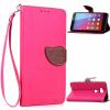 Розовый Дизайн Кожа PU откидная крышка бумажника карты держатель чехол для Huawei Honor 5X чехол для сотового телефона honor 5x smart cover grey