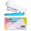 Deli (гастроном) 0352 Цвет практичный мини-степлер кассета пакет (степлер + скобы # 12) степлер мебельный matrix 40907