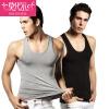 Модальные (2 установлен) хлопок мужской жилет мужской жилет спортивные облегающие и досуг рубашки