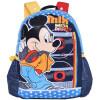 Дисней (Disney) Микки детские школьные сумки с милый мультфильм творческий шлем детский сад мешок черный мешок M616140 (съемный шляпа) дисней disney микки детские школьные сумки милый минималистский легкий рюкзак школьный портфель mb0479c черный и зеленый