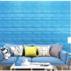 MyMei C0445-GN 3d Brick Pattern Wallpaper Bedroom Living Room Modern Wall Background Tv Decor