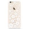 KOOLIFE Apple IPhone 6 / 6splus телефона оболочка защитной крышка телефона оболочка жесткие оболочки / 6с плюс творческой окрашены оболочки / PC решетка окна оболочки сопротивления падения - белый цветок танца