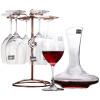 Школа права (roupa) красное вино графина вино установлено семь наборов (460ml красного вина графина * 6 + 1000мли * 1) пожертвовали красивую вину стойку и винные аксессуары 4 угол желоба внешний grand line 125 90° красное вино металлический