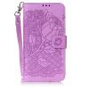 Пурпурная роза Дизайн Кожа PU откидная крышка бумажника карты держатель чехол для HUAWEI Y6 II смартфон huawei y6 pro золотой