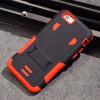 Наружная крышка телефона чехол для iphone 6 6s плюс PC + Силиконовый полный защитный доспех Футляр для IPhone Kickstand 7 плюс С M